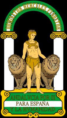Escudos andaluces.
